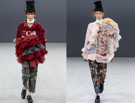 Image result for Viktor and Rolf A/W 16 collection